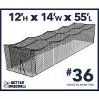 36 Gauge Nylon 12x14x55 Batting Cage Lead Rope