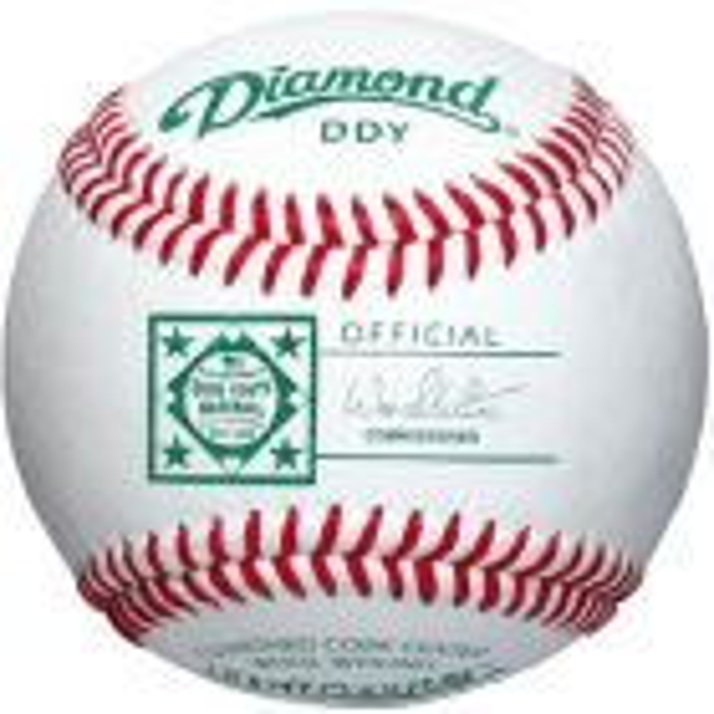 Dz. Diamond Dixie Youth 12 & Under Baseballs