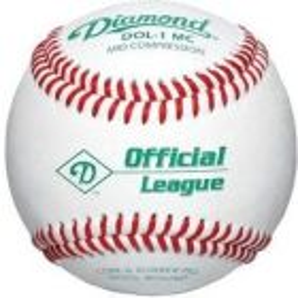 Dz. Official Little League Mid Compres. Baseballs