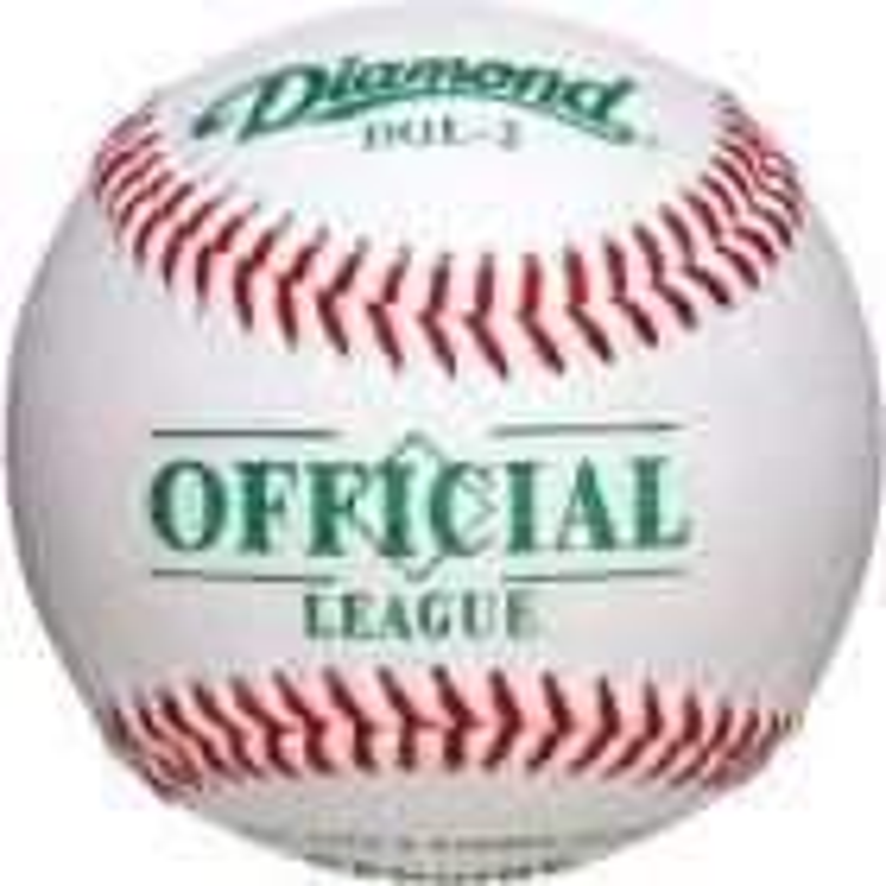 Dz. Diamond Official League 2 Baseballs
