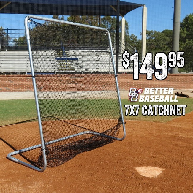 Better Baseball Catch Net