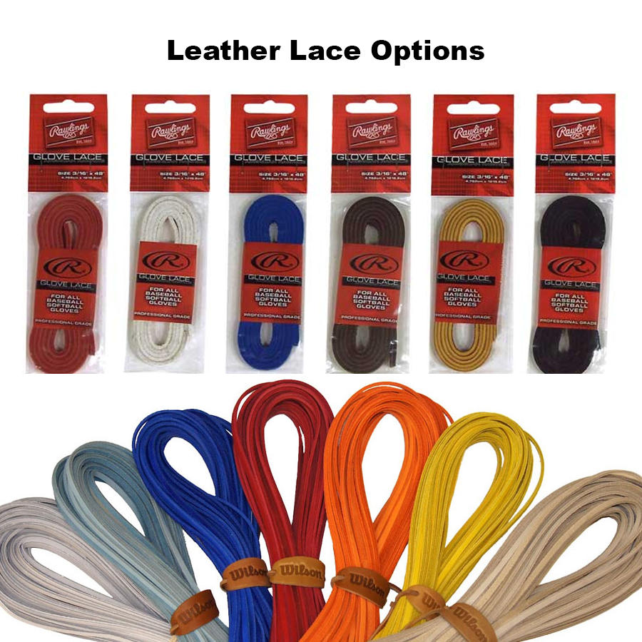 Leather lace options
